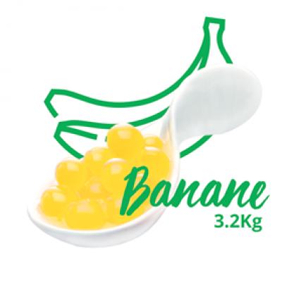Bulles fusion à la banane
