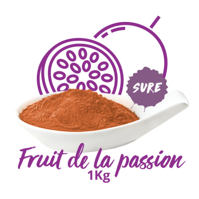 Poudre sure - Fruit de la Passion 1KG