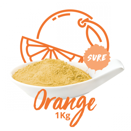 Poudre sure - Orange 1KG