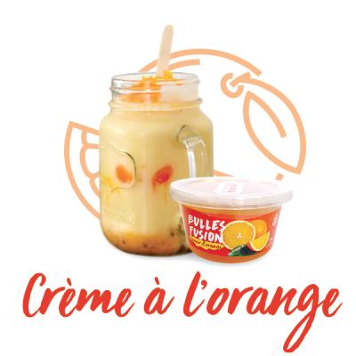 Crème à l'orange