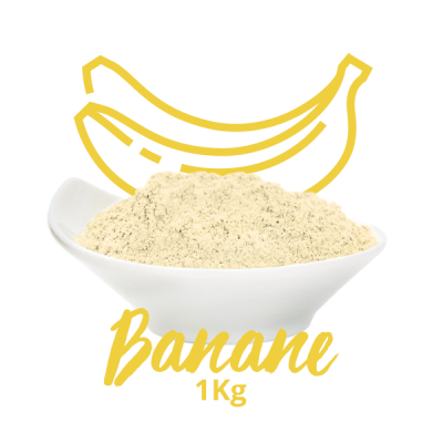 Poudre crémeuse - Banane 1kg
