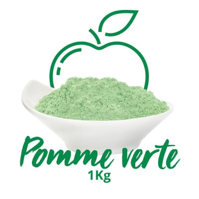 Poudre crémeuse - Pomme Verte 1KG