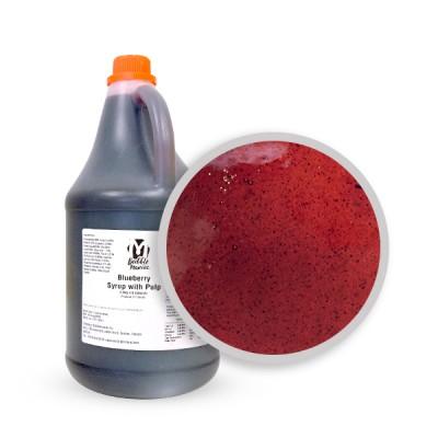 Sirop | Bleuet 2.5 KG (avec pulpes)